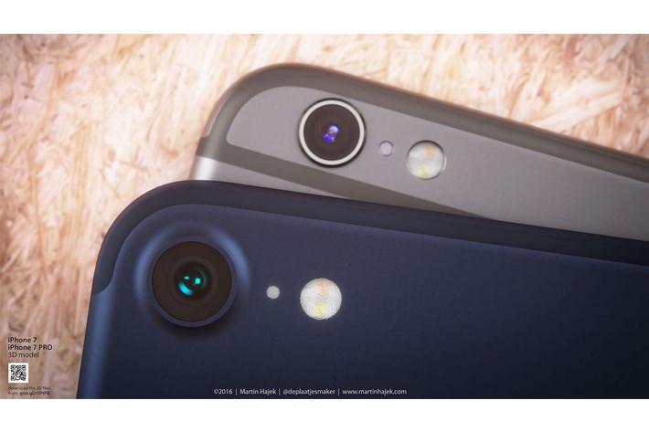iPhone7Dライン画像