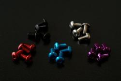 6ミリねじ 銀・赤・青・紫・黒
