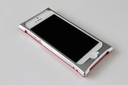 ジュラルミン削り出し アルミバンパー Smart HYBRID for iPhone5
